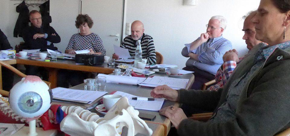 Besprechung der Ergonomiepartner in Göttingen